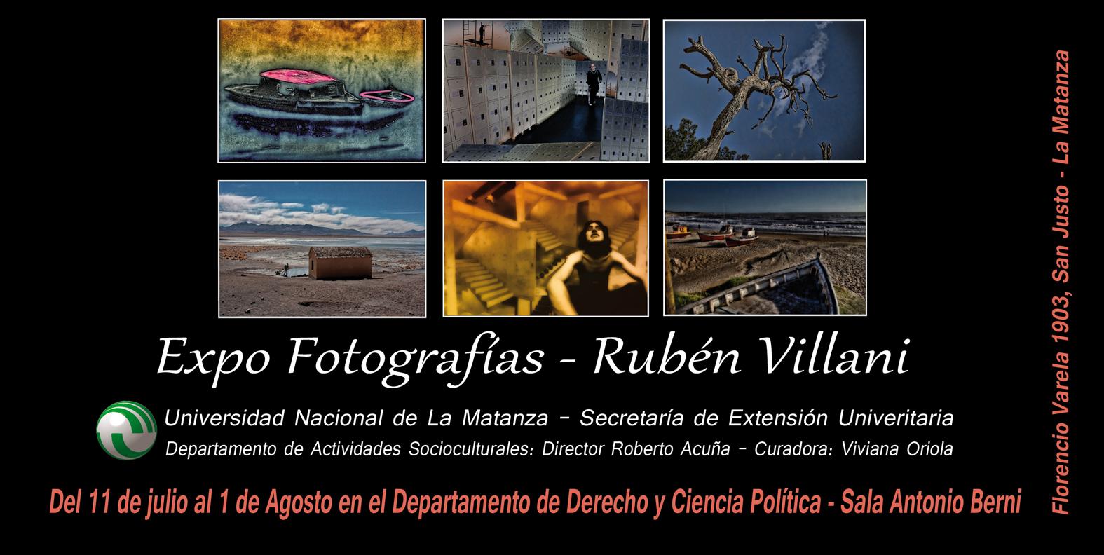 Expo fotografía en la UNLaM