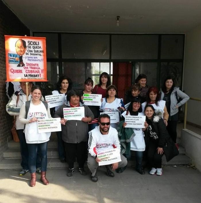 escuela 146 protesta