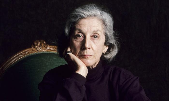 Nadine Gordimer in 1993.