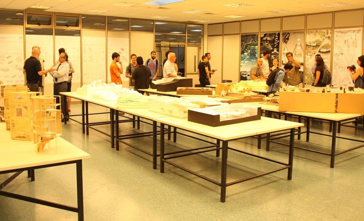 Nuevas maquetas presentadas por alumnos de arquitectura Asignaturas de la carrera de arquitectura